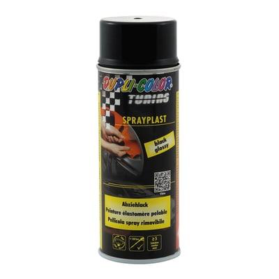 Smalto spray base solvente DUPLI COLOR Sprayplast 0.0075 L nero lucido