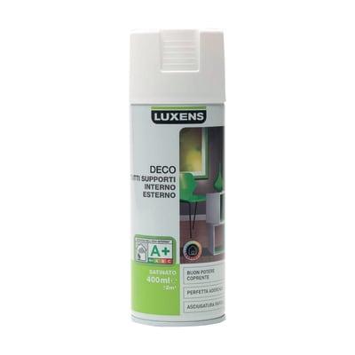 Smalto spray LUXENS Deco bianco satinato 0.0075 L