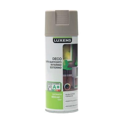 Smalto spray LUXENS Deco marrone talpa satinato 0.0075 L