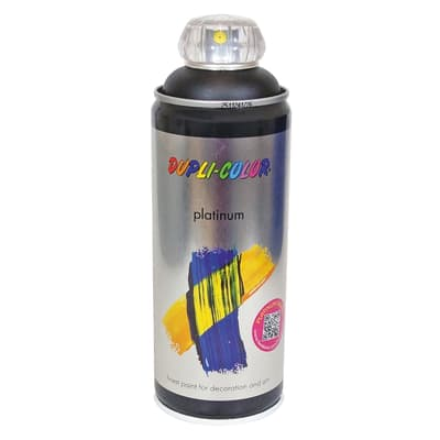 Spray DUPLI COLOR a solvente nero profondo lucido 0.0075 L