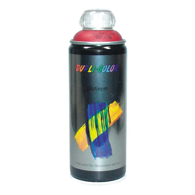 Smalto spray rosso porpora satinato 0.0075 L