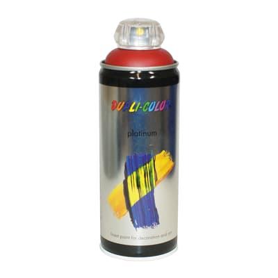 Smalto spray rosso rubino satinato 0.0075 L