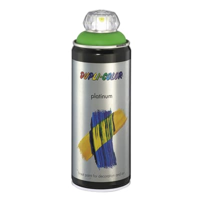 Smalto spray DUPLI COLOR verde giallo satinato 0.0075 L