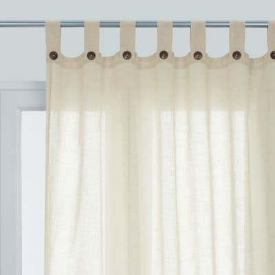 Tenda INSPIRE Charlina beige occhielli 140 x 280 cm