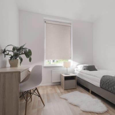 Tenda a rullo Ancona oscurante beige 180x250 cm