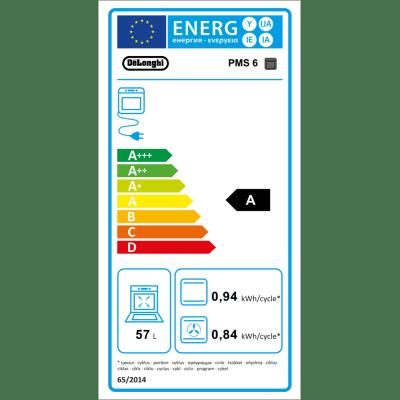 Forno Elettrico multifunzione ventilato 6 funzioni DE LONGHI PMS 6