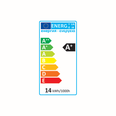 Lampadina LED E27 globo bianco caldo 14.5W = 1521LM (equiv 100W) 220° LEXMAN