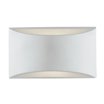 Applique Astron-ap bianco, in gesso, G9 2xMAX28W IP20