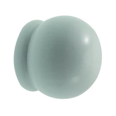 Finale per bastone Ø28mm Palla sfera in legno verniciato Set di 2 pezzi