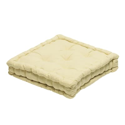 Cuscino da pavimento INSPIRE Futon Clea ecru 39x40 cm