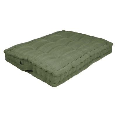Cuscino da pavimento INSPIRE Toscana verde 60x80 cm