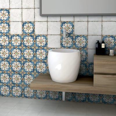 Piastrella Agadir H 20 x L 20 cm PEI 3/5 bianco