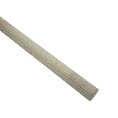 Bastone per tenda Aspen in legno Ø28mm bianco decapato 200 cm