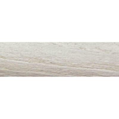 Riloga Sofia in legno Ø 28 mm grigio grezzo 200 cm INSPIRE