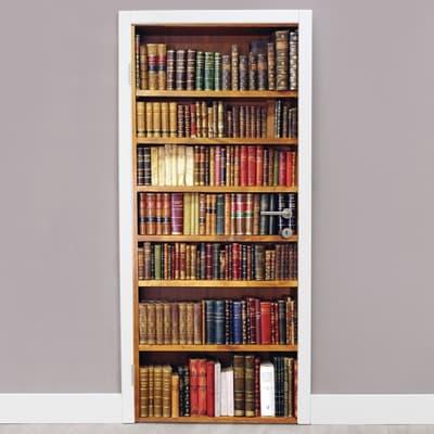 Sticker Bookcase 9x96 cm