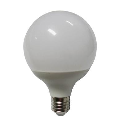 Lampadina LED E27, Globo, Opaco, Bianco, Luce naturale, 12W=1100LM (equiv 75 W), 240° , LEXMAN