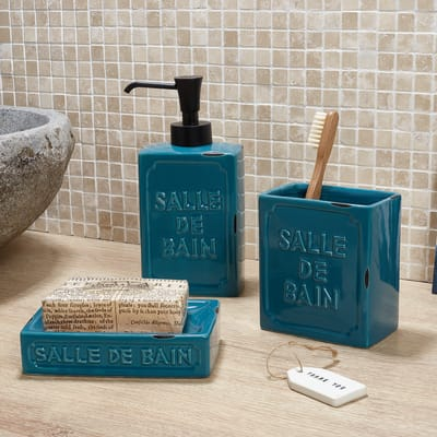 Dispenser sapone Vivienne blu