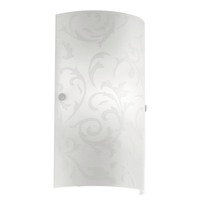 Applique classico Amadora bianco, in metallo, 18x7.5 cm, EGLO