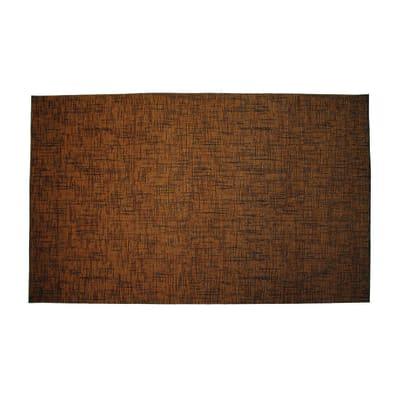 Passatoia Deco marrone rossiccio 53