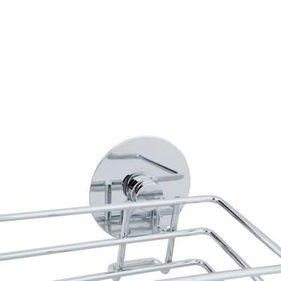 Ripiano per le spezie adesivo argento P 7 cm x L 300 x H 55 mm