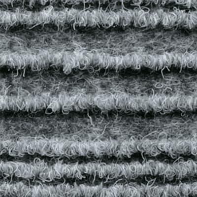 Passatoia Eco stripe , grigio, 65x65 cm