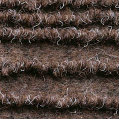 Passatoia Eco stripe , marrone, 65x65 cm