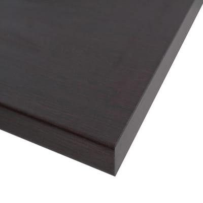 Piano cucina su misura in laminato Rovere Amari marrone , spessore 4 cm