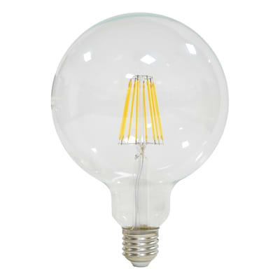 Lampadina Filamento LED E27 globo bianco caldo 12W = 15000LM (equiv 100W) 360° LEXMAN