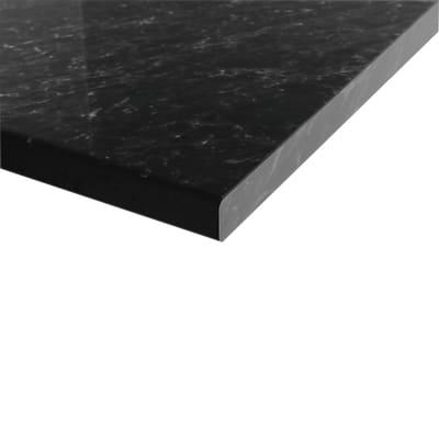 Piano cucina su misura in laminato Marmo nero , spessore 4 cm prezzi ...