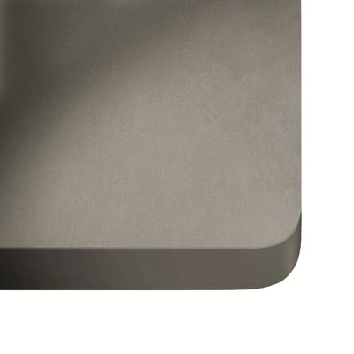 Piano cucina su misura in dekton Sirocco grigio scuro , spessore 3 cm
