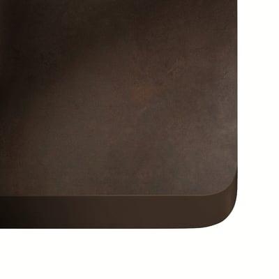 Piano cucina su misura in dekton Kadum nero , spessore 3 cm