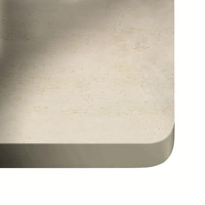 Piano cucina su misura in dekton Danae grigio , spessore 3 cm