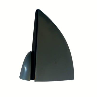 Reggimensola Pinza L 2.7 x H 5.4 x P 66 cm grigio / argento