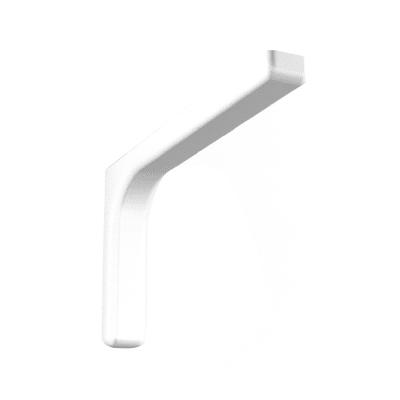 Reggimensola Leonardo L 14.4 x H 14.4 cm bianco