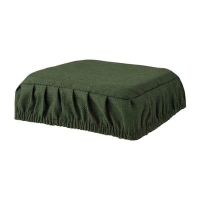 Cuscino per sedia con elastico Antonella verde 40x40 cm
