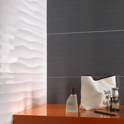 Piastrella Kolor L 30 x H 60 cm bianco
