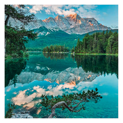 Foto murale KOMAR Mirror lake 127.0x184.0 cm