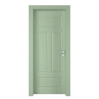Porta a battente Coconut Groove verde L 60 x H 210 cm sinistra