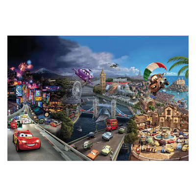Foto murale KOMAR Cars world 368.0x254.0 cm