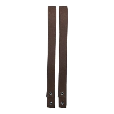 Reggimensola Feltro L 102 x H 102 cm marrone