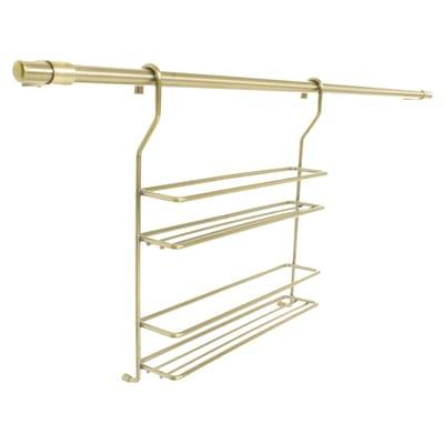 Barra sottopensile in metallo 30 x 33 cm