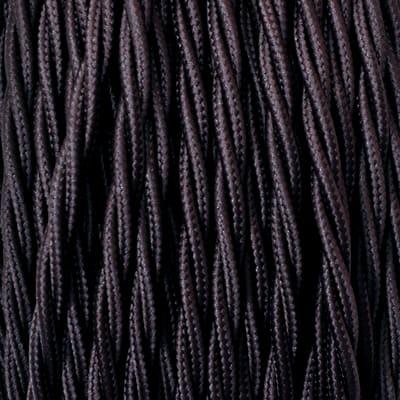 Cavo tessile MERLOTTI 2 fili x 0,75 mm² marrone 5 metri