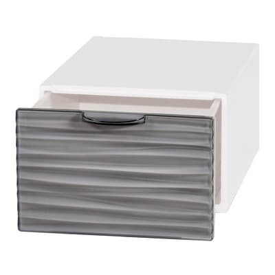 Cassettiera L 15 x P 21 x H 10 cm bianco