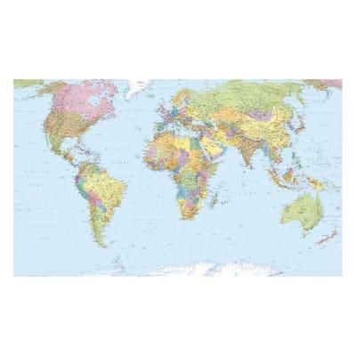 Foto murale KOMAR World Map 368.0x248.0 cm