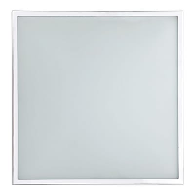 Plafoniera Diana bianco, in vetro, 8x31 cm, LED integrato 12W IP20