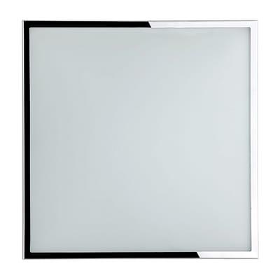 Plafoniera Diana bianco, in vetro, diam. 31, LED integrato 12W IP20