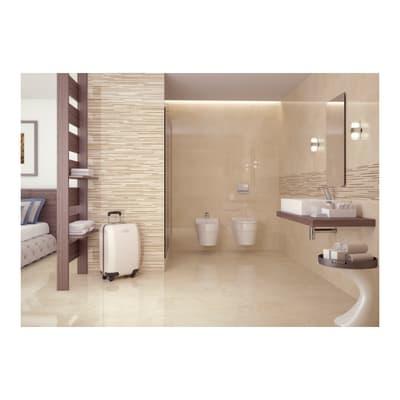 Piastrella Marmo L 24 x H 69 cm bianco