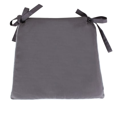 Cuscino per sedia lisa grigio 40x40 cm prezzi e offerte