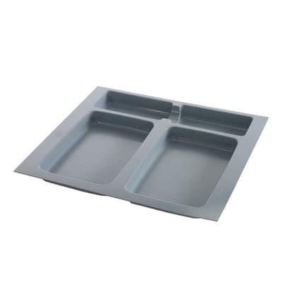 Vassoio del secchio X-PLANE 600 MULTIM manuale grigio 0 L