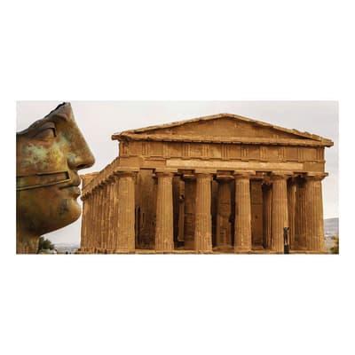 Pannello decorativo Tempio di Concordia 210x100 cm